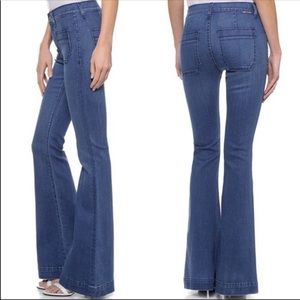 Hudson Taylor High Waist Flare Jeans 28